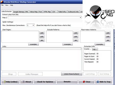 SiteMap Generator v0.972